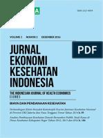 Jurnal EKI Volume 1 Nomor 2 Cover