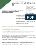 Crear un Instalador en VS 2010 con InstallShield.pdf