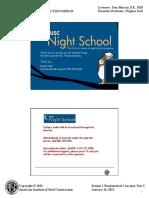 Night School Session 1 - Fundamental Concepts, Part i (2)