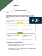 Multiplicacion y Division Guia Para Imprimir