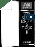 Giroux - Teoria Critica - Livro Completo.pdf