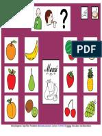Tablero Fruta 12 Casillas