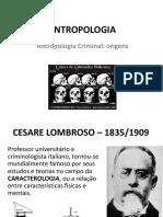 Antropologia Antropologia Criminal Origens Cesare Lombroso (Docslide.com.Br)
