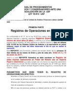 Instructivo de Procedimientos Para Notarios y Conservadores Ante Una Fiscalización de La Uaf