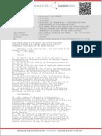 Especificaciones Técnicas Mínimas Que Deberán Cumplir Los Equipos Terminales Utilizados en Las Redes Móviles - RES-1463 EXENTA_16-JU