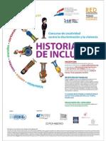 Afiche del Concurso Historias de Inclusión