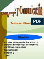 Texto No Literario 8vo