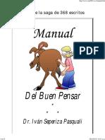 Manual Del Buen Pensar