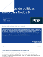 CONFIGURACION POLITICAS RU40.