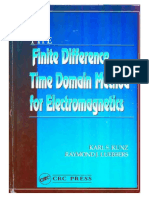 The Finite Difference Time Domain Method for Electromagnetism - Kunz K.S., Luebbers R.J.