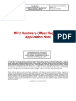 MPU HW Offset Registers 1.2