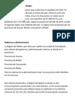 Biobío u VIII Región Del Biobío