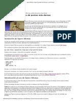 Apero-Micmac, Nubes de Puntos Más Densas - Jose Pereira