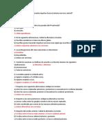 cuestionario neuroanatomia
