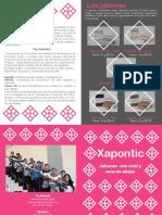 Información Xapontic - IMPRIMIR 2016