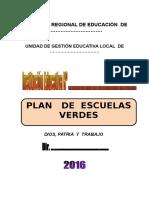 Plan de Escuelas Verdes