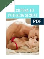 Recupera Tu Potencia Sexual