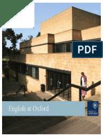 English at Oxford