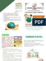 Diptico Grupo Verde