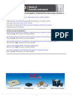 Experimental and Numerical Investigations of Turbulent Flow Induced Pipe Vibration in Fully Developed Flow_2004