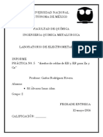 INFORME de Cadlos