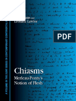 (SUNY Series in Contemporary Continental Philosophy) Merleau-Ponty, Maurice_ Evans, Fred_ Merleau-Ponty, Maurice_ Lawlor, Leonard-Chiasms _ Merleau-Ponty's Notion of Flesh-State University of New York
