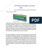 Diagnóstico de Producción de Agua, Curvas de Chang, Marcelo Madrid, 2009, 3 Pgs