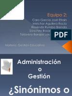 Administración o gestión