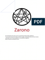 Zarono Necronomicon Book No 1 Text