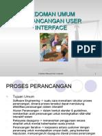 Pedoman User Interface