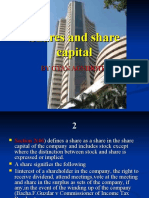 Shares and Share Capital