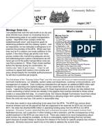 Senator Krueger's Community Bulletin - August 2017