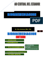 CLASE PRE UCE 2016 Biorremediacion