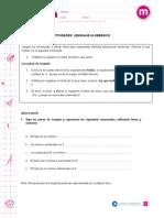 Algebra 6 Basico