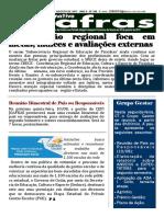 Informativo Semanal CEPI JOAFRAS - Edição 290 - Piranhas-Goiás, 06 a 12 de agosto de 2017.