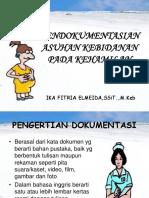 Pendokumentasian Pd Kehamilan