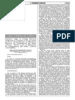 RA N° 083-2014-P-PJ - ILEGALIDAD DE HUELGA 2014