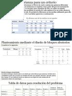 Análisis de La Varianza Para Un Criterio en El Final x
