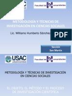 Metodología de La Cienicias Sociales