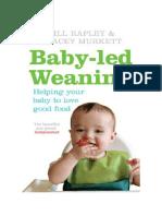 Descargar Baby Led Weaning by Gill Rapley Tracey Murkett Libro