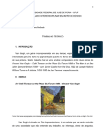Análise comparativa  Vincent Van Gogh, Joseph Mallord William Turner e Jan Vermeer