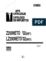 Z200 Parts Catalogue