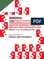 Anais alaic - GT16 - Estudos do Jornalismo