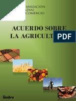Acuerdo Sobre La Agricultura