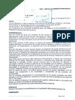 Proyecto Ordenanza Adhesión Ley Clubes de Barrio