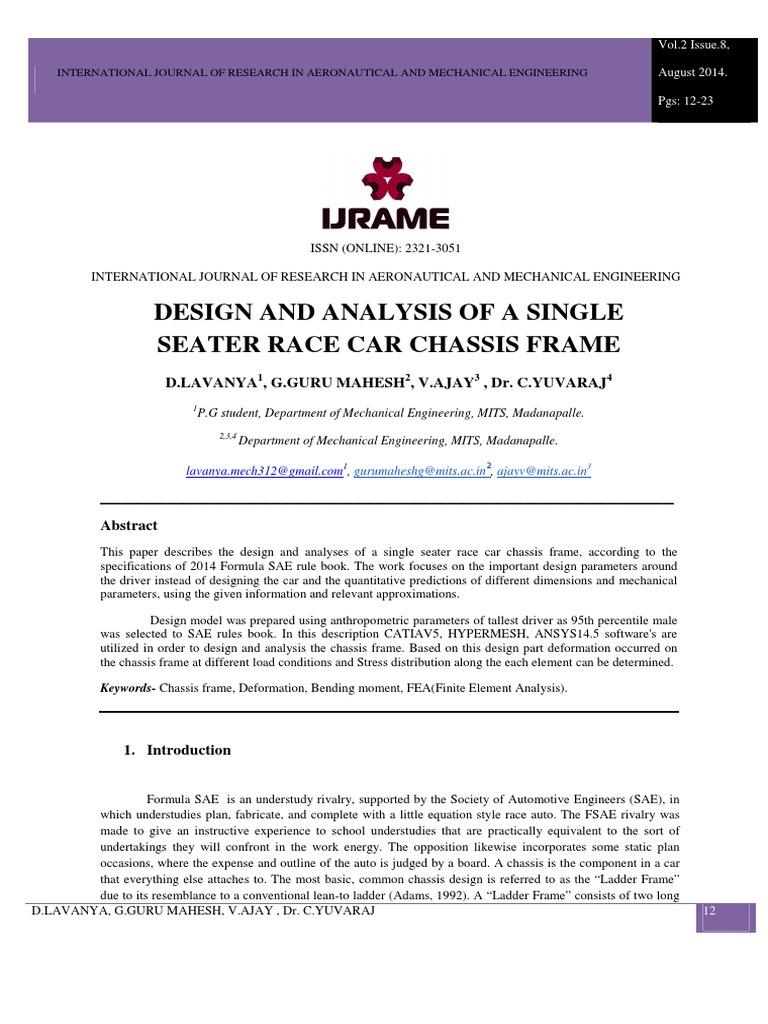 V2i805 pdf | Bending | Suspension (Vehicle)