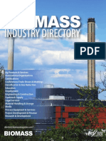 ALTERNATIVE ENERGY SUPPLIERS AND BIOMASS at Glance