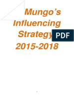 St Mungo's Influencing Strategy 2015-18