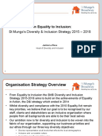 2015 - 2018 From Equality to Inclusion Strategy