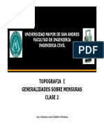 1GESTION 2016 TEMA 1 Clase2 Generalidades de Mensuras Topo I